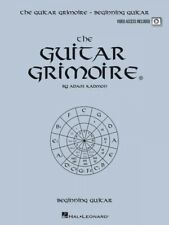 The Guitar Grimoire Beginning Guitar Educational Book and Video 000696375