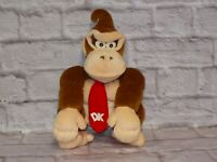 """Donkey Kong BD&A Talking Plush 14"""" NINTENDO COLLECTIBLES RARE! and Hard to Find"""