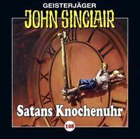 """Preisalarm! * HÖRSPIEL CD * JOHN SINCLAIR """"Satans Knochenuhr"""" 108 * NEU/OVP"""