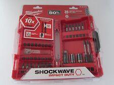 Milwaukee 48324001 Shockwave Impact Duty Driver Bit Set New