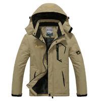 Winter  Men  Warm Windproof Coats Mens  Hooded Jackets   Men's Outwear Overcoat