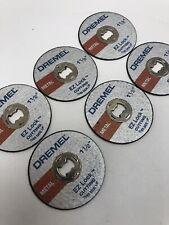 "Dremel 6-Pack of EZ Lock 1 1/2"" Cut-Off Wheels for Metal Rotary Tools EZ456"