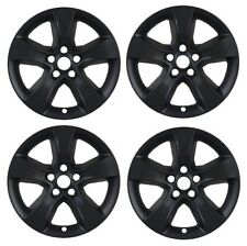 "2008-2014 Dodge CHARGER 17"" BLACK Wheel Skins Covers Alloy Wheels SET"