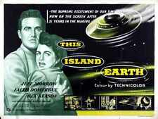 This Island Earth Poster 07 Metal Sign A4 12x8 Aluminium