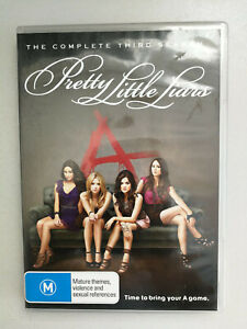 Pretty Little Liars The Complete Third Season DVD R4 VGC M Rated 6 disc set