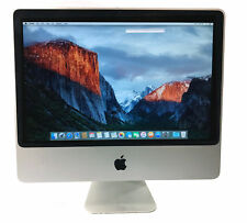 "Apple A1224 20"" iMac MB323LL/A iMac8,1 C2D 2.4GHz 2GB RAM 250GB El Capitan"