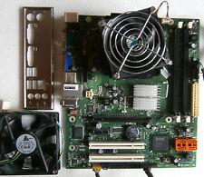 Mainb. Fujitsu D2841-A11 Sockel LGA 775 inkl. Blende, Kühler + Lüfter+CPU E8500