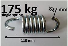 175 kg giardino appesa SEDIA Swing Hammock PRIMAVERA Heavy Duty ZINCATO