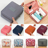 Travel Cosmetic Makeup Bag Toiletry Pouch Hanging Case Storage Organizer Wash