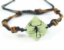 Real Insect Bracelet Black Scorpion