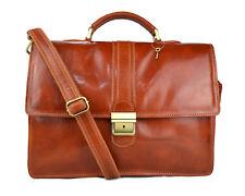 Cartella pelle borsa ufficio uomo donna valigetta 24 ore borsa pelle miele 63cb0b0e0bb