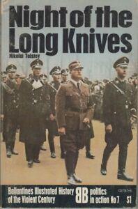 Night of the Long Knives - Ballantine's 1972 - Nikolai Tolstoy