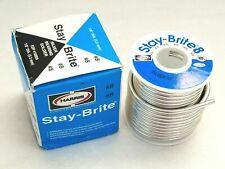 Harris Stay Brite 8 Silver Bearing Solder 18 1 Lb Pound Spool Sb861 18 Wire