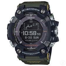 G-SHOCK RANGEMAN GPS Navigatioin Solar Bluetooth Green Watch GShock GPR-B1000-1B
