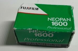 Fujifilm Neopan 1600 Professional 135 Black&White 35mm Film Expired October 2009