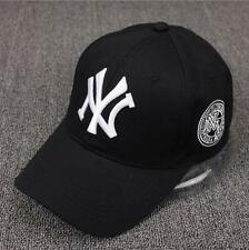 New Mens Womens Baseball Cap Hip-Hop Hat Adjustable NY Snapback Sport Unisex