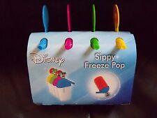 DISNEY ICE POP MAKER SIPPER -- 4 MOLDS NEW