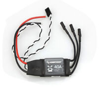Hobbywing XRotor 2-6S Lipo 40A /20A /10A Brushless ESC No BEC for RC Aircraft