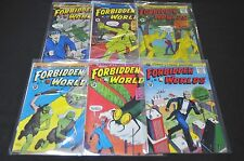 FORBIDDEN WORLDS #101-128 (4.0-6.0) 26 ISSUES TOTAL ACG SILVER AGE