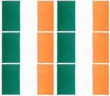 6 x Ireland 5ft x 3ft Irish Republic Flags St Patricks Day Football Rugby Q35