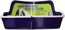 Ware Manufacturing Plastic Scatterless Lock-N-Litter Jumbo Pet Pan Odorless