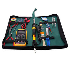 17in1 60W 110V Electric SMD Soldering Iron Welder Kit with Desoldering Pump Wire