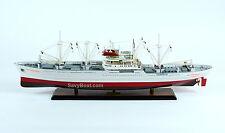 "MS Cap San Diego Cargo Ship Model 35"" Handmade Wooden Ship Model"