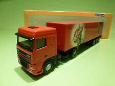 LION CAR DAF 95 XF 480 - COCA COLA  FOOTBALL - 1:50 - RARE SELTEN - GOOD IN BOX