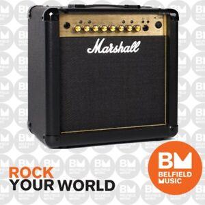 Marshall MG15GFX Guitar Amplifier w/ Effects 15w Combo Amp MG-15GFX GOLD SERIES