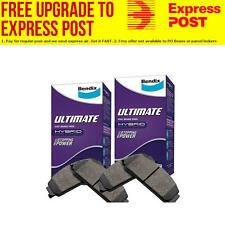 Bendix ULT Front and Rear Brake Pad Set DB1353-DB1354ULT