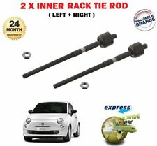 FOR FIAT 500 500C 0.9 1.2 1.3JTD 1.4 2007-> NEW 2 X INNER STEERING RACK TIE ROD