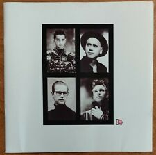 DEPECHE MODE Music for the Masses Tour 1987-1988 TOUR PROGRAM