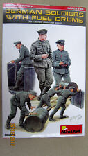 German soldiers with fuel drums. Special edition 1/35  by MiniArt  #  35256