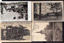 111641 4 AK Kowel Ковель Ukraine 1917 Stabsgebäude Russische Kirche 1916 zerstör