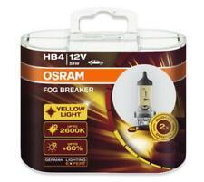 OSRAM HB4 9006FBR Globe Fog Breaker 2600K 12V51W Deep Yellow light Car Lamp Bulb