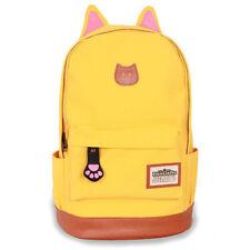 Unisex Retro Rucksack Backpack School College Bookbag Travel Shoulder Bag Clutch