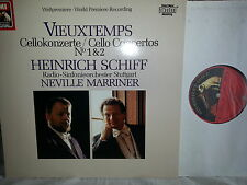 VIEUXTEMPS Cellokonzerte Cello Concertos Schiff Marriner LP EMI 152389 Digital