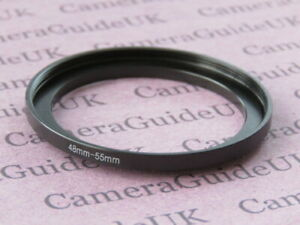 48mm to 55mm Male-Female Stepping Step Up Filter Ring Adapter 48mm-55mm