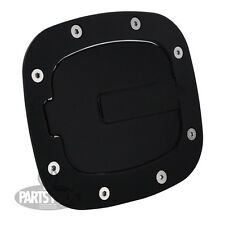 NEW Gloss Black Non-Locking Gas Fuel Door / FOR TOYOTA FJ CRUISER 2007-2014
