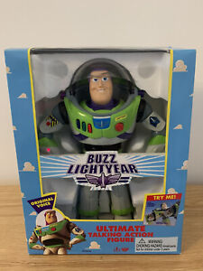 "Vintage Original Toy Story BUZZ LIGHTYEAR 12"" Action Figure Boxed"