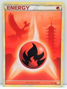 Fire Energy Common - 116/123 HGSS Base Set LP