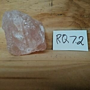 Rose Quartz Natural Raw Rough Mineral Specimen 7.2 oz