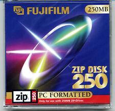 FUJIFILM no Iomega 250MB 250 MB ZIP Diskette Disk Disc neu ovp ab 1 Stück St. 1x