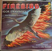 The Firebird Suite Romeo and Juliet Excerpts LP album Stravinsky Tchaikovsky