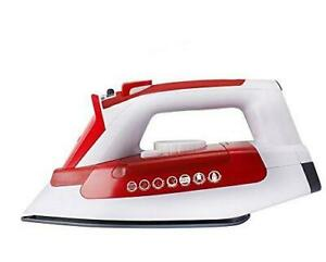 Hoover IRONjet TIL2200 Steam Iron, 2200 W, White/Red