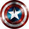 Captain America Avengers Eßbar Tortendeko Tortenaufleger Party Deko Muffin neu