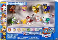 Paw Patrol Action Pack Pups Metallic Exclusive Figure 7-Pack Limited Edition