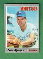 1970 TOPPS #315 LUIS APARICIO HALL OF FAME CHICAGO WHITE SOX NEAR MINT