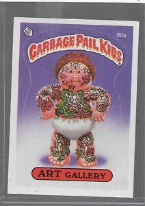 Q6 - Rare Old Vintage Retro 1985 Garbage Pail Kids GPK Topps Collection Card 80b