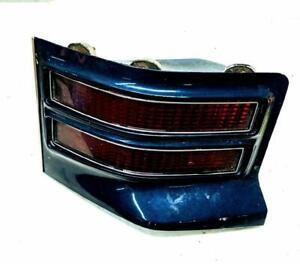 1974-1975 Pontiac Tempest Grand Prix Sedan LH Tail Light Dark Blue Trim OEM Used